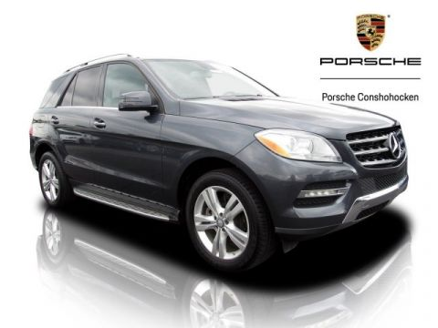 Pre-Owned 2014 Mercedes-Benz M-Class ML 350 BlueTEC®