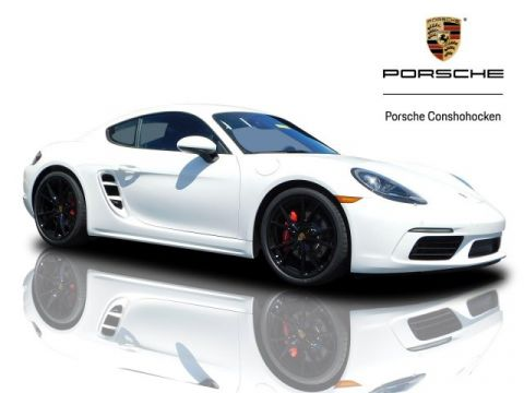 New 2019 Porsche 718 Cayman S S